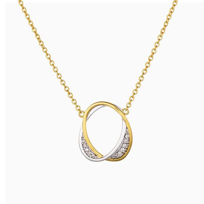 C2019/62 gouden collier