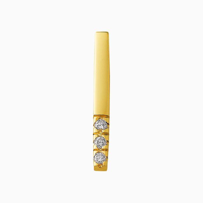 H303/3 hanger met 3 diamanten