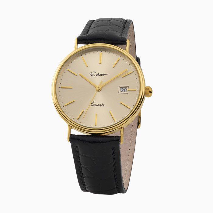 H741 gouden heren horloge