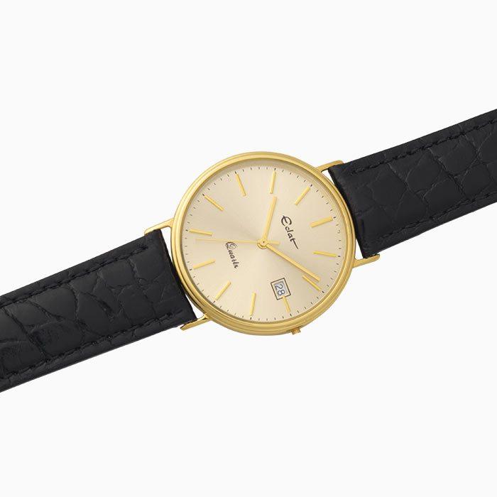 H741 gouden horloge plat