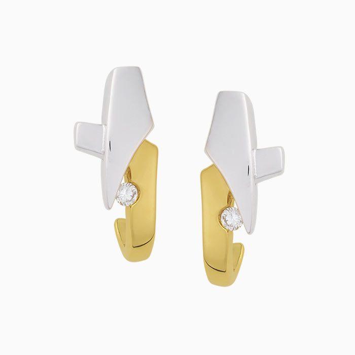 R2018/12 gouden oorknoppen