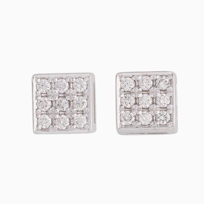 OK2019-64 Gouden oorknoppen met diamanten