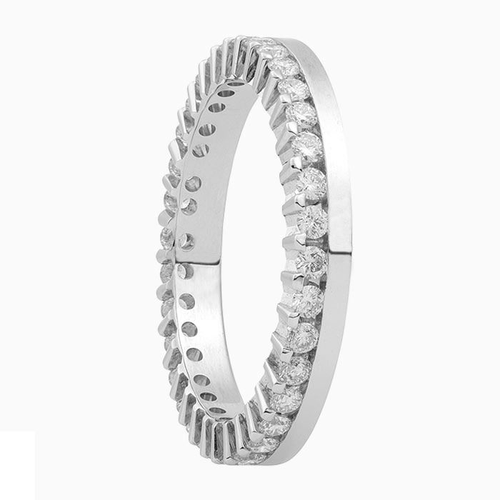 gouden ring met 0,68 crt. diamant