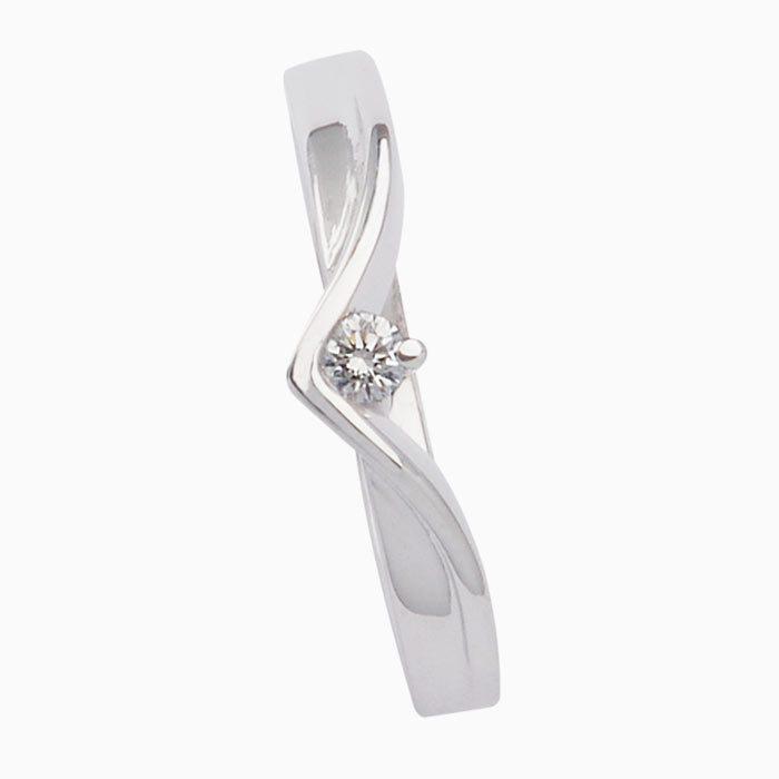 r4241 gouden ring met diamant