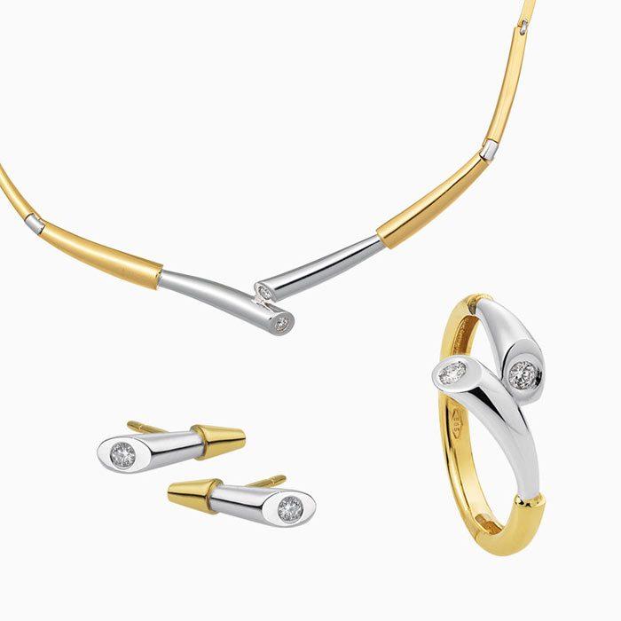set-1790-junior gouden set met diamant