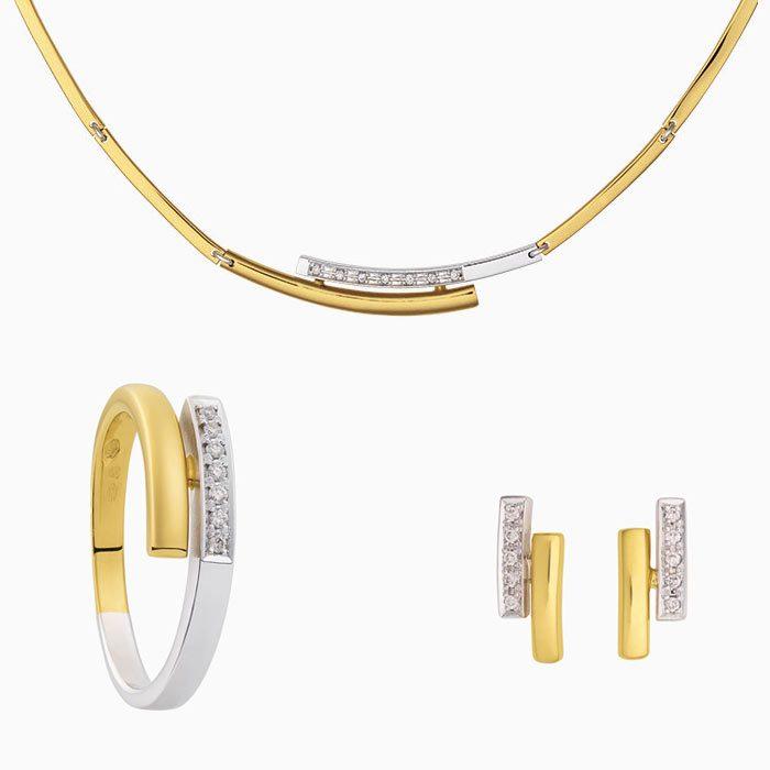 2019-66 set goud met diamant
