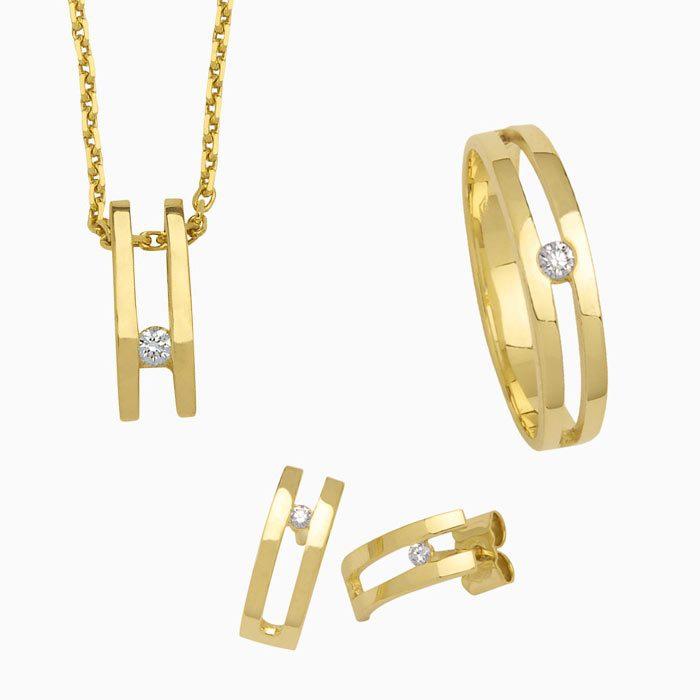 collectie 3005 goed met diamanten sieraden