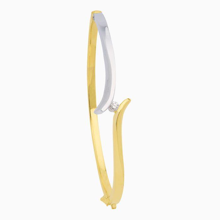 Capri armband goud met diamant