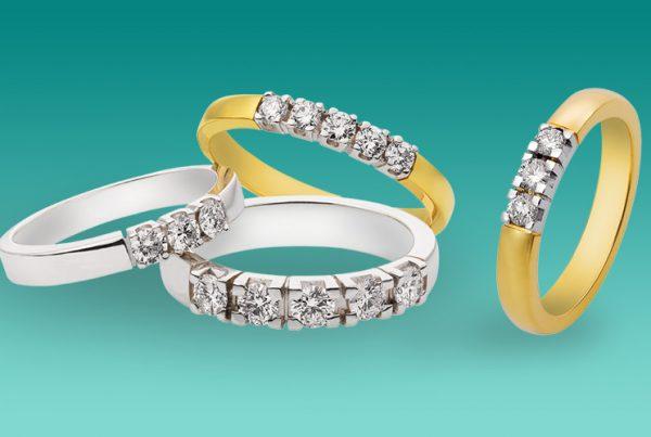 diamanten bijzetten