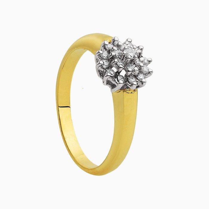 Rozet Ring 0,26 crt