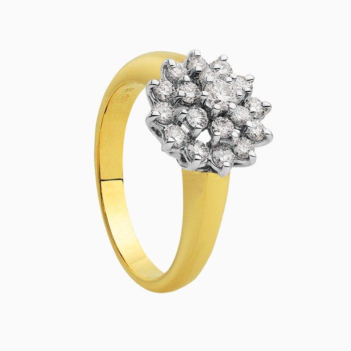 Rozet Ring 0,75 crt
